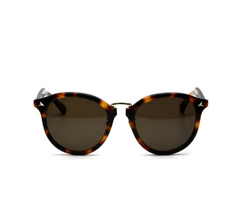 SUNGLASSES Brown Demi / Light Green