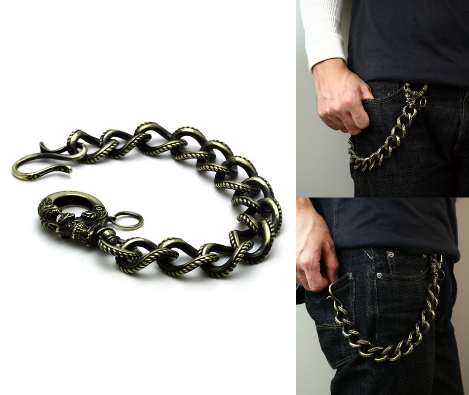 Gleed Skull Walletchain