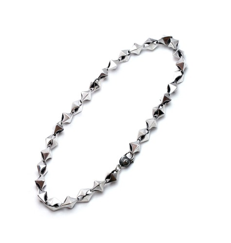 Cubism Chain Necklace / Silver925