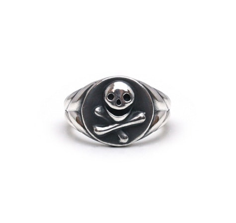 Laughing Skull Ring / Silver925