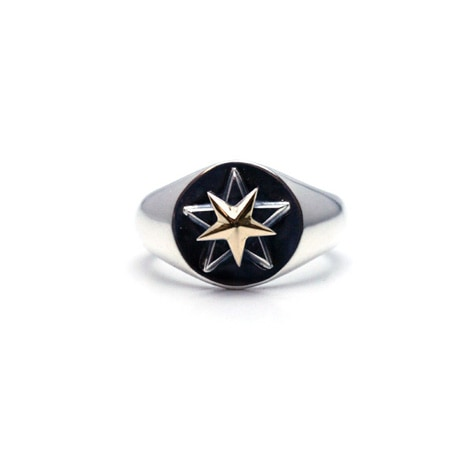 TAOISTAR Ring Silver925×K18GOLD