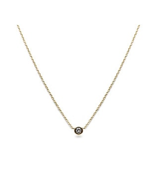 Plain Diamond Necklace