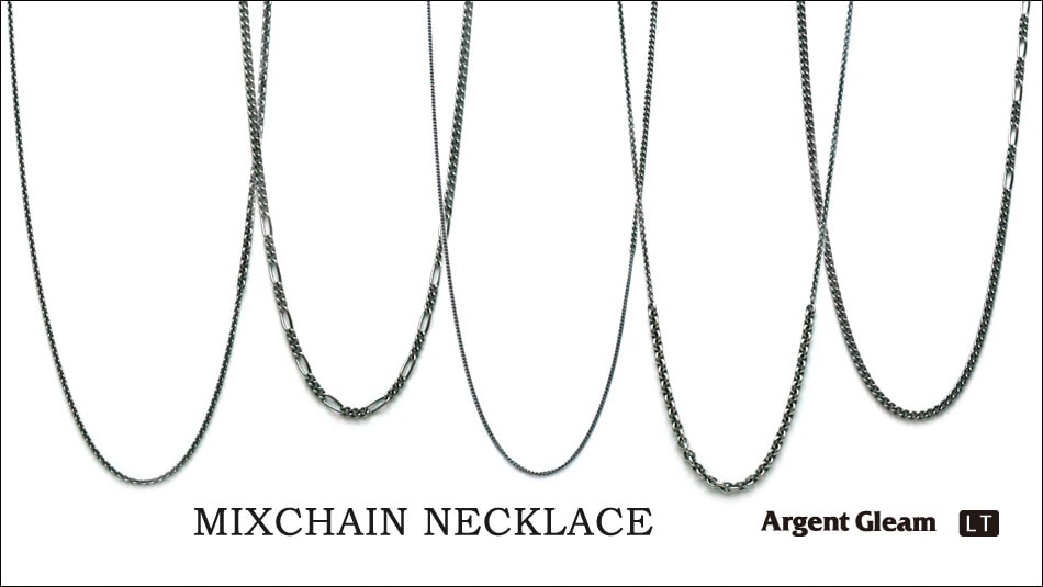 Argent Gleam LT MIXCHAIN NECKLACE