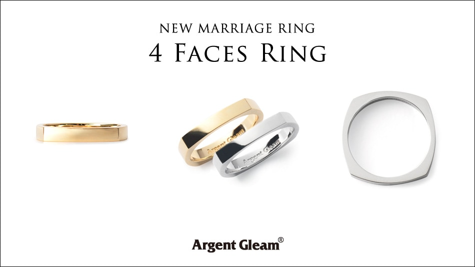 NEW MARRIAGE 4Faces Ring