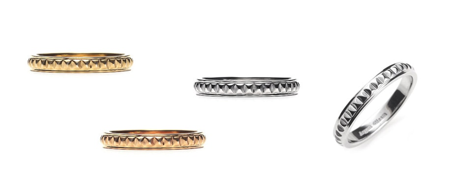 Studs Band Ring