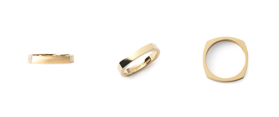 4Faces Ring K18Yellow Gold