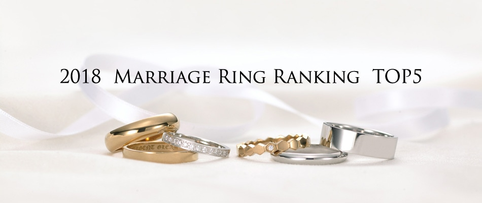 Marriage Ring Ranking TOP5