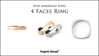 "NEW MARRIAGE ""4Faces Ring"""