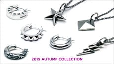 "2019 AUTUMN COLLECTION ""Necklace & Hoop Pierce"""