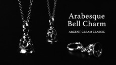 Arabesque Bell Charm