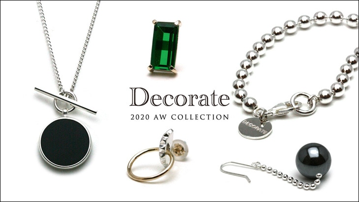 2020 AW DECORATE COLLECTION