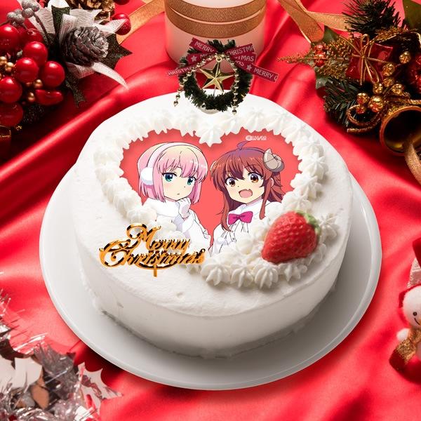 「まちカドまぞく」ケーキイメージ