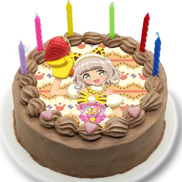 「プリティーシリーズ10周年」ケーキイメージ