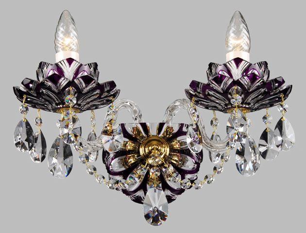 ブラケット シャンデリア W-02-Lotos-violet-1