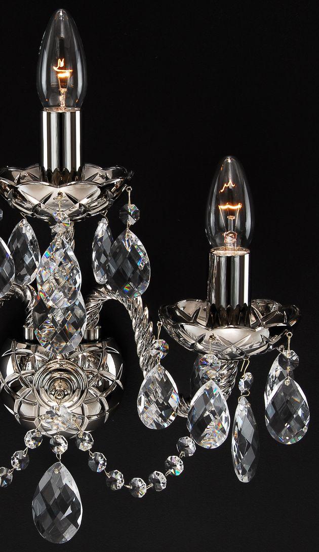 ブラケット シャンデリア W-03Coated-crystal-DS-3
