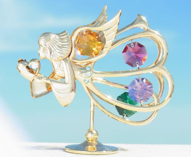 誕生日プレゼント/スワロフスキー/愛を運ぶ天使の置物1-1