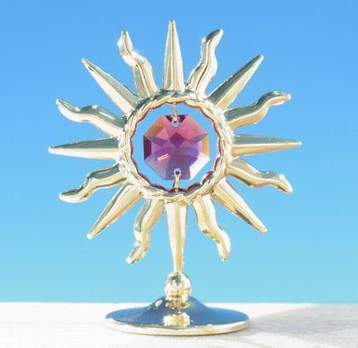 誕生日プレゼント/スワロフスキー/灼熱の太陽の置物g1-1