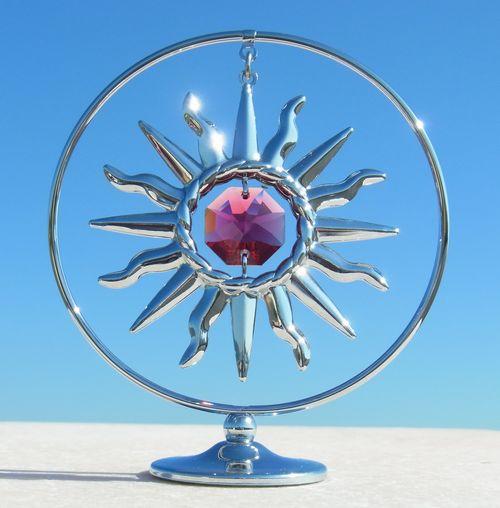誕生日プレゼント/スワロフスキー/かわいい太陽の置物