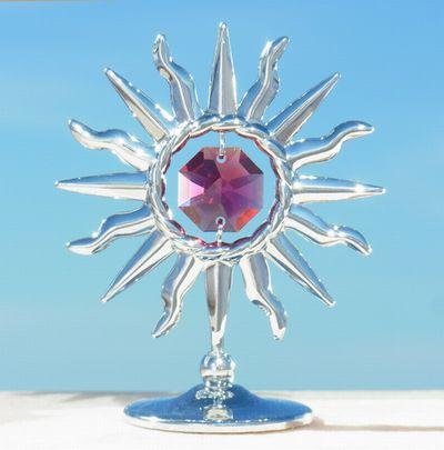 誕生日プレゼント/スワロフスキー/灼熱の太陽の置物sr1-2