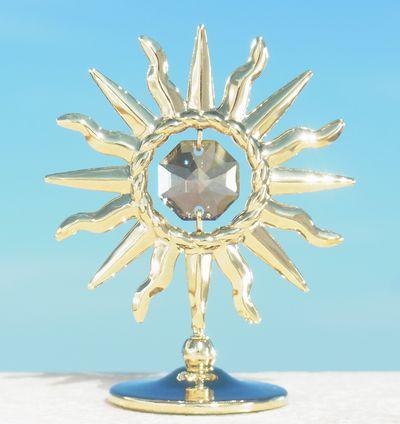 誕生日プレゼント/スワロフスキー/灼熱の太陽の置物gg1-1
