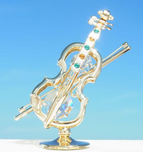 誕生日プレゼント/スワロフスキー/バイオリンの置物1