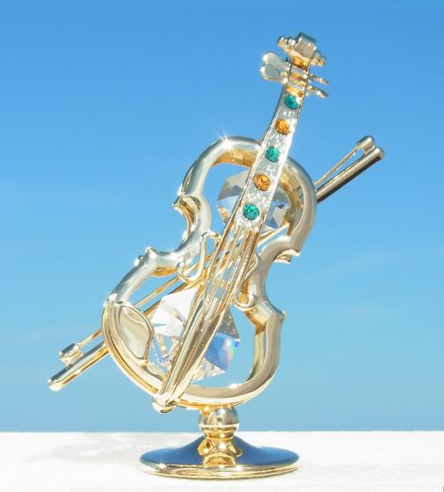 誕生日プレゼント/スワロフスキー/バイオリンの置物3