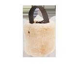 バケツ型ラビットファーバッグ