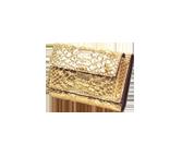 DIAMONDパイソン三つ折財布