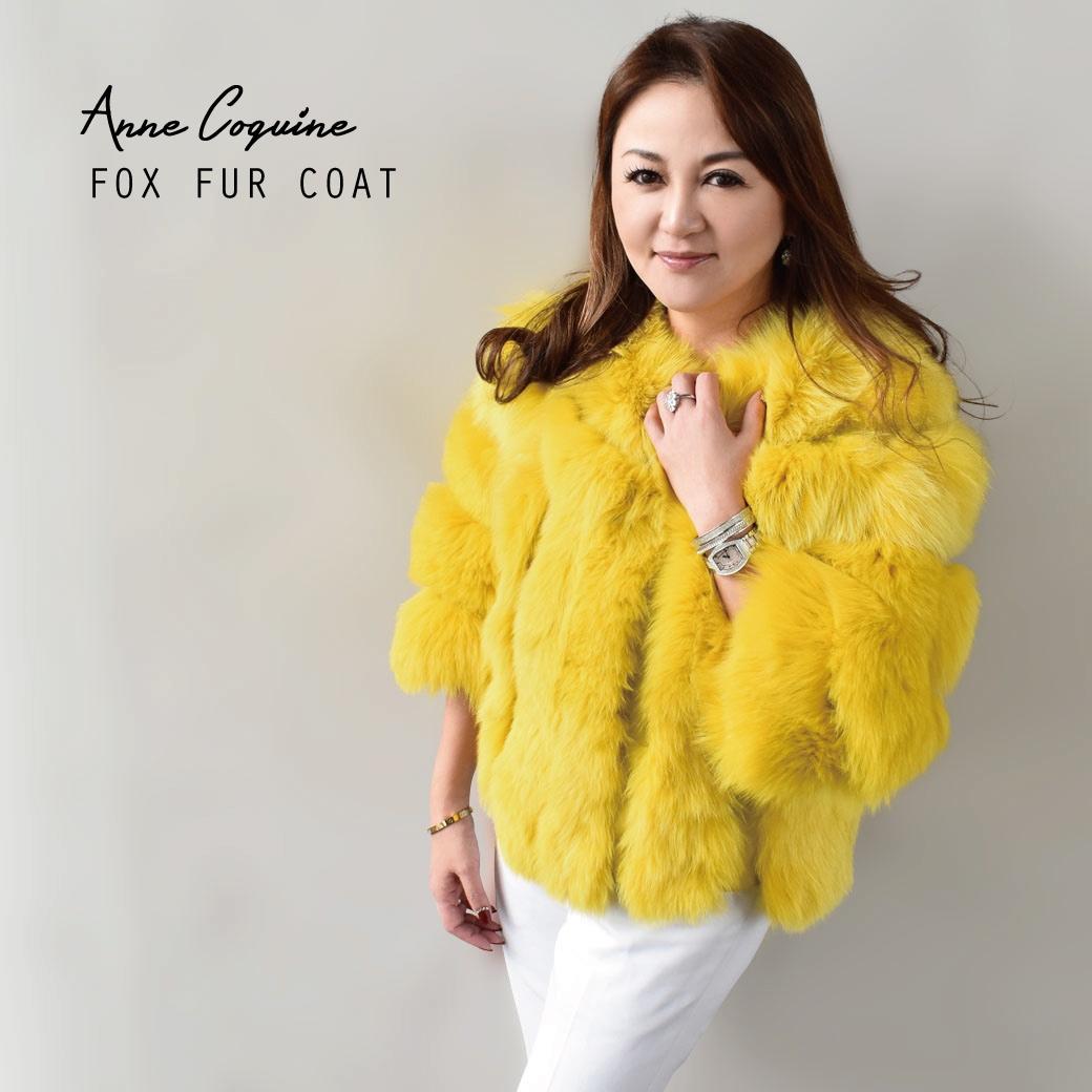 FOXファーコート