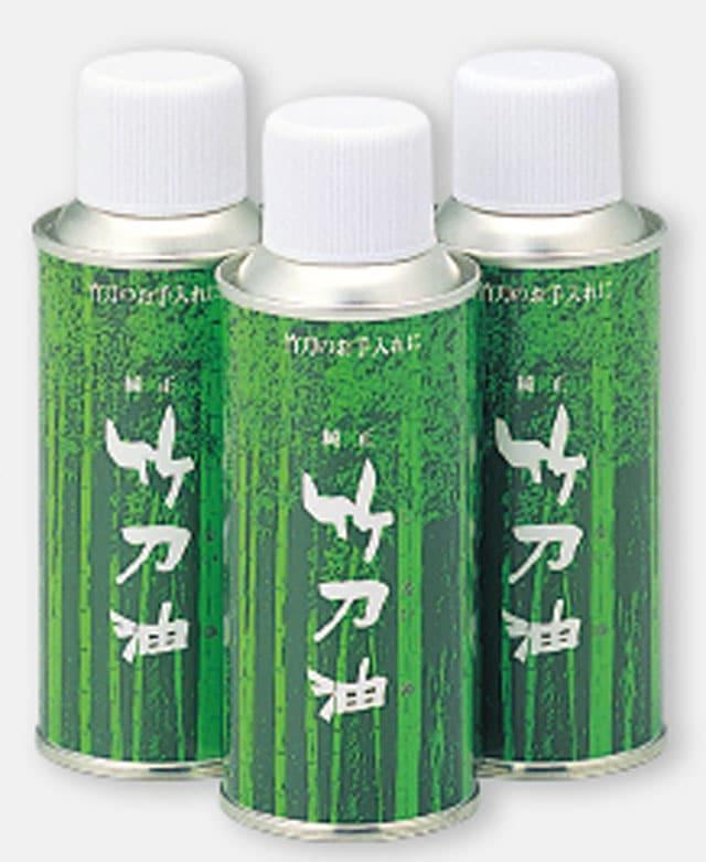 竹刀メンテナンス「竹刀油」