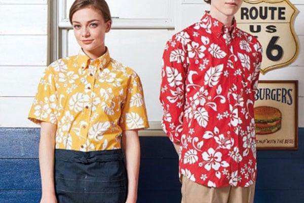 arbeのアロハシャツ