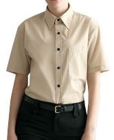 半袖カラーシャツ