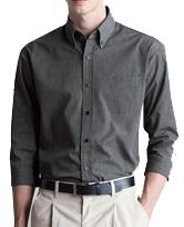 七分袖カラーシャツ