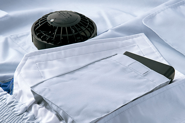 混合素材空調服