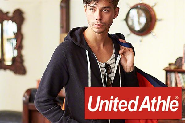 UnitedAthleのパーカー