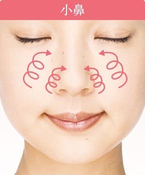 ポイントメイクのご使用方法:小鼻