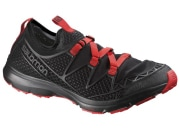 Salomon CROSSAMPHIBIAN クロスアンフィビアン MEN [Black/Black/Radiant Red] 26.0cm