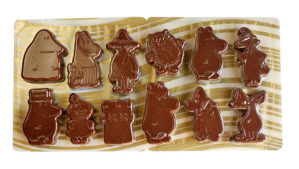 ムーミン フィギュア チョコレート