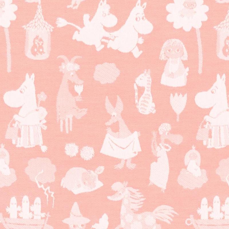 ムーミンブランケット ムーミンバレー ピンク