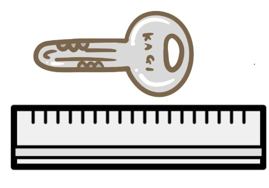 keyサイズの測り方