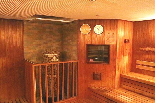浴場市場サウナタイマーの設置写真