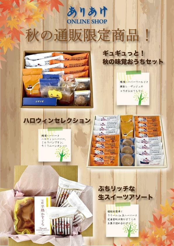 秋の通販限定商品!