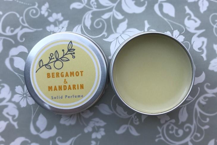ベルガモット&マンダリンの練香水