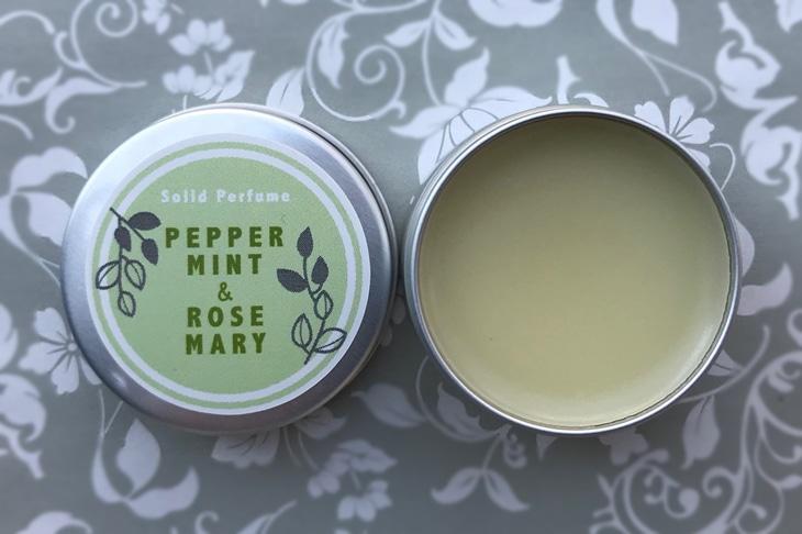 ペパーミント&ローズマリーの練香水