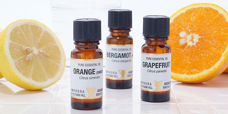 柑橘のアロマオイル