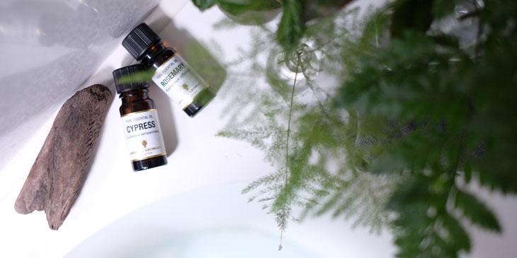 体調管理のためのアロマオイル