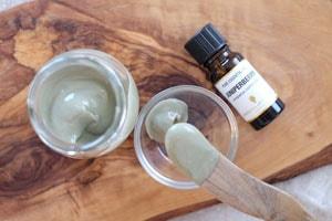 モンモリナイト保湿クリームのアロマレシピ