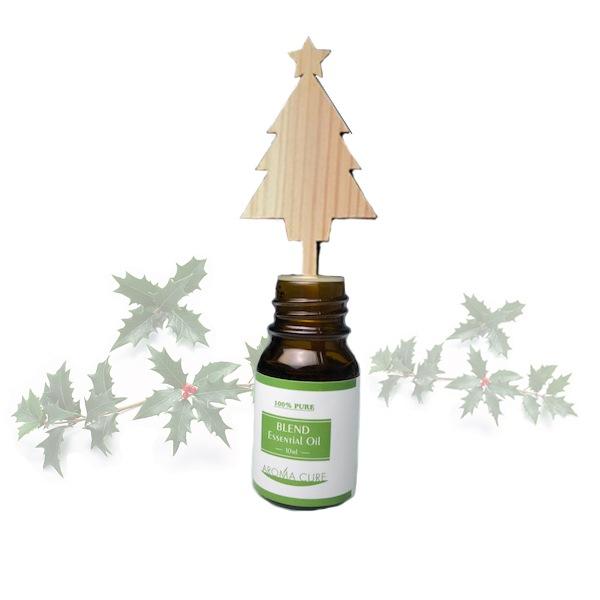 クリスマスアロマオイル木製スティックセット