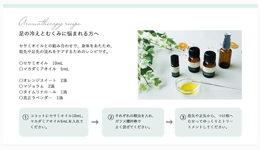 オレンジスイートレシピ