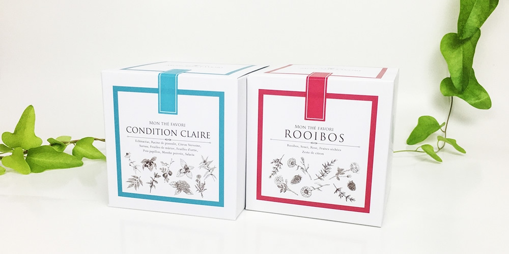 Set.1 CONDITION CLAIRE&ROOIBOS セット